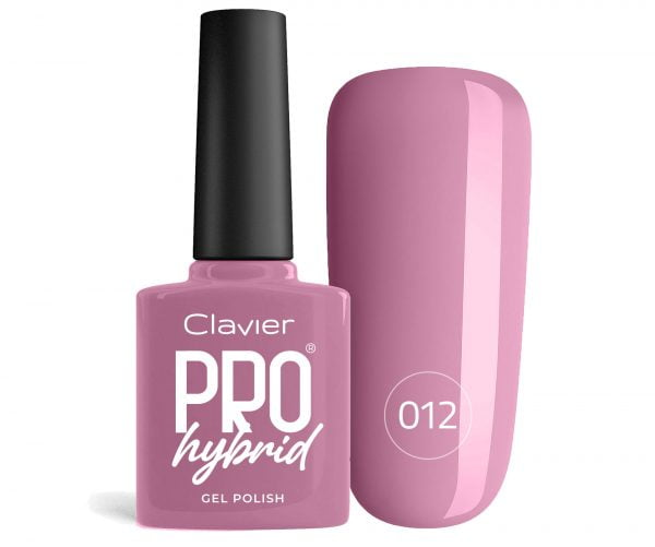 Lakier Hybrydowy – ProHybrid do Paznokci nr 012 – Purple'O'Pink