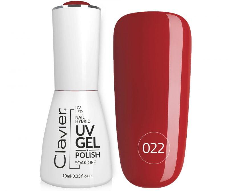 Lakier Hybrydowy do Paznokci – Clavier Luxury 022 – Ready Red