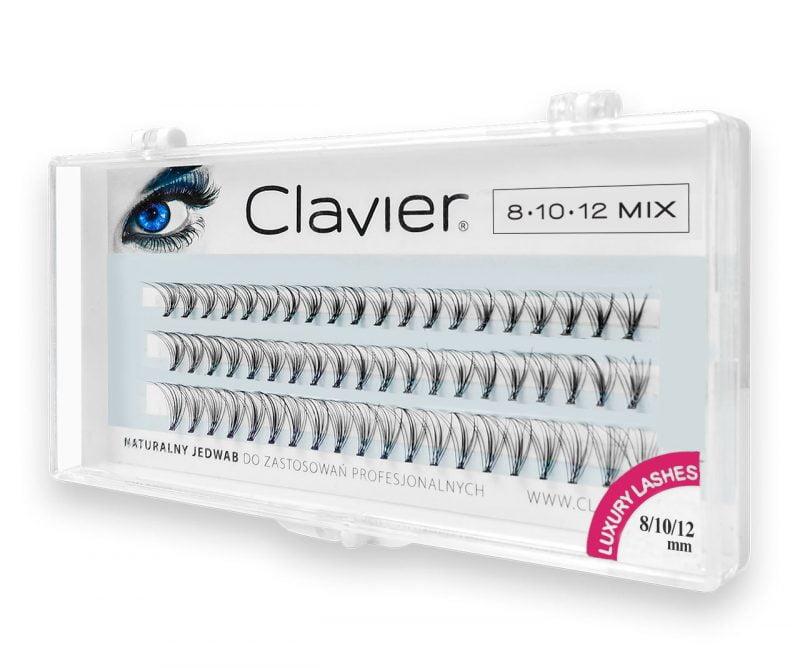 Kępki Rzęs Clavier Classic Mix, Opakowanie – 81012mm