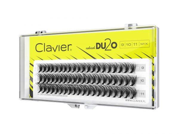 Kępki Rzęs MIX Clavier 9-10-11mm – D2UO Double Volume