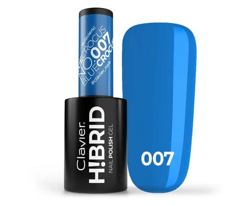 Lakier hybrydowy H!BRID – 007 Blue Crocus