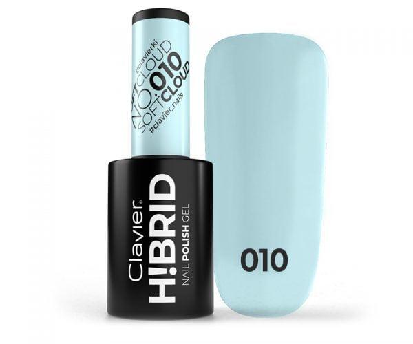 Lakier hybrydowy H!BRID – 010 Soft Cloud