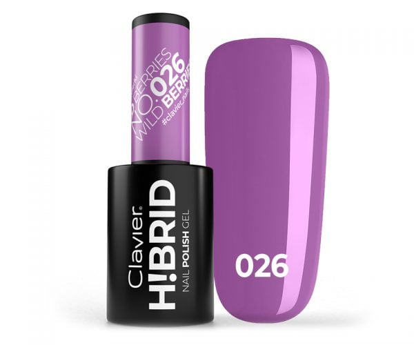 Lakier hybrydowy H!BRID – 026 Wild Berries