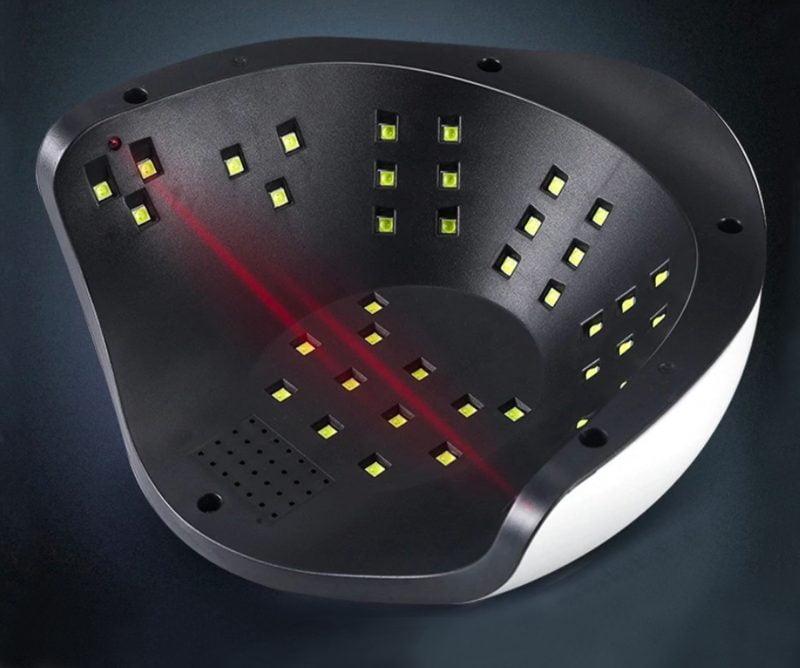Lampa do Hybryd UV LED 120W, Paznokci Clavier Q12