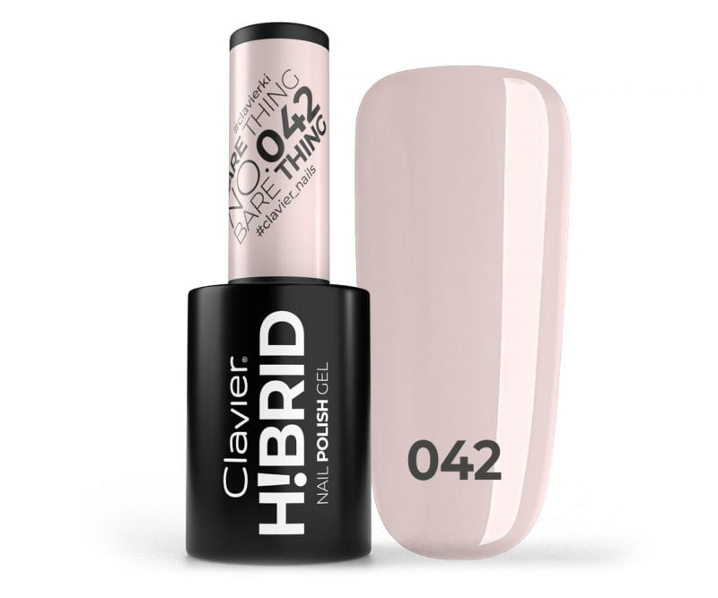 Lakier hybrydowy H!BRID – 042 Bare Thing
