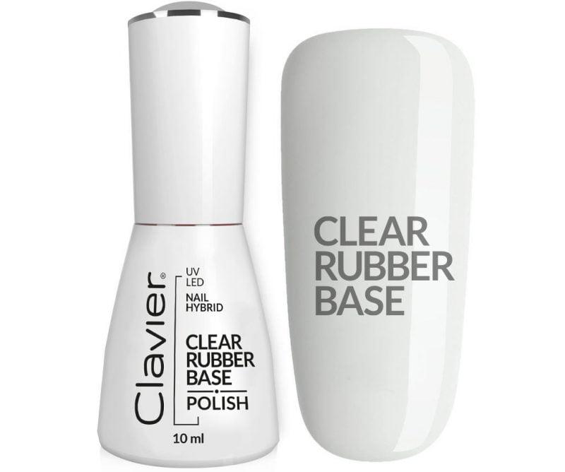 Luxury CLEAR RUBBER BASE – do lakierów hybrydowych