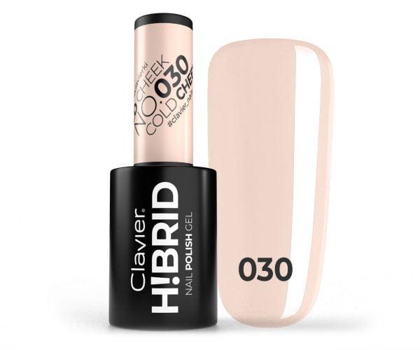 Lakier hybrydowy H!BRID – 030 Cold Cheek