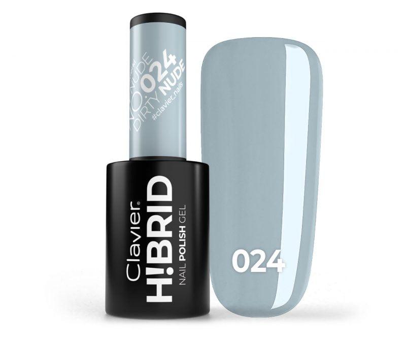 Lakier hybrydowy H!BRID – 024 Dirty Nude
