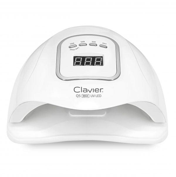 80W Lampa do Paznokci LED UV (45 diod) Clavier – Q5 MAX do Hybryd, Manicure Oceniony 5.00 na 5 na podstawie 1oceny klienta (1 opinia klienta)