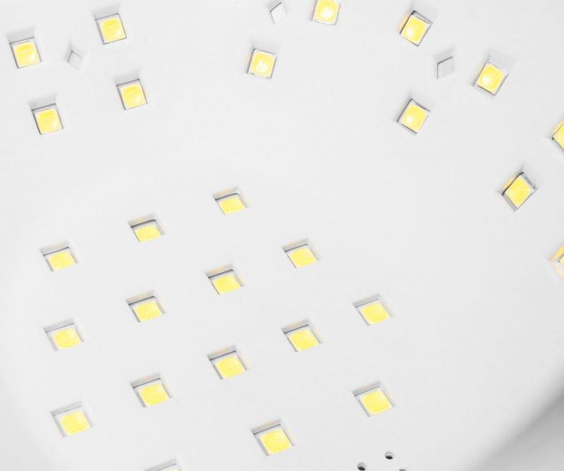 90W Lampa do Paznokci, Hybryd- LED UV (45 diod) Clavier Q9