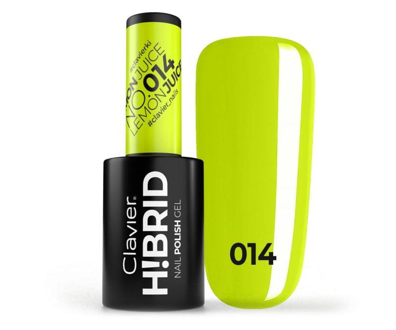 Lakier hybrydowy H!BRID – 014 Lemon Juice