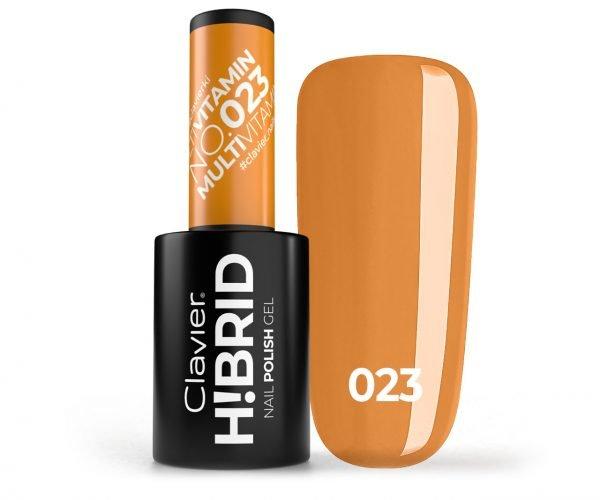 Lakier hybrydowy H!BRID – 023 Multivitamin