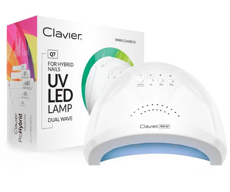 Lampa do Lakierów Hybrydowych UV/LED Clavier – Q7 48W