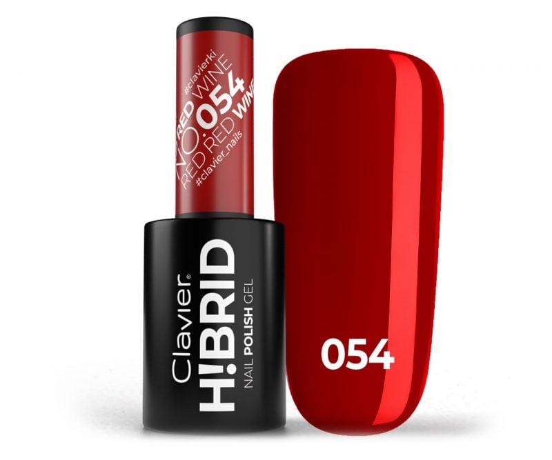 Lakier hybrydowy H!BRID – 054 Red Red Wine
