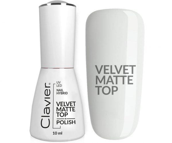 Luxury VELVET MATTE TOP – do lakierów hybrydowych