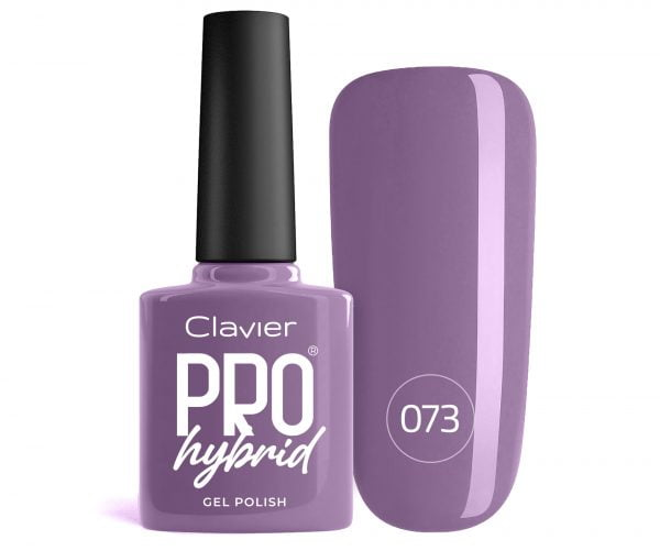 Lakier Hybrydowy – ProHybrid do Paznokci nr 073 – Purple Sage