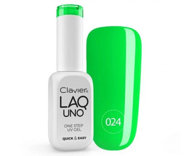 Clavier LaqUno One Step Gel -Granny Smith 024