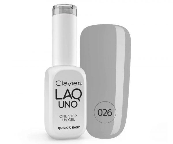 Clavier LaqUno One Step Gel - Foggy 026