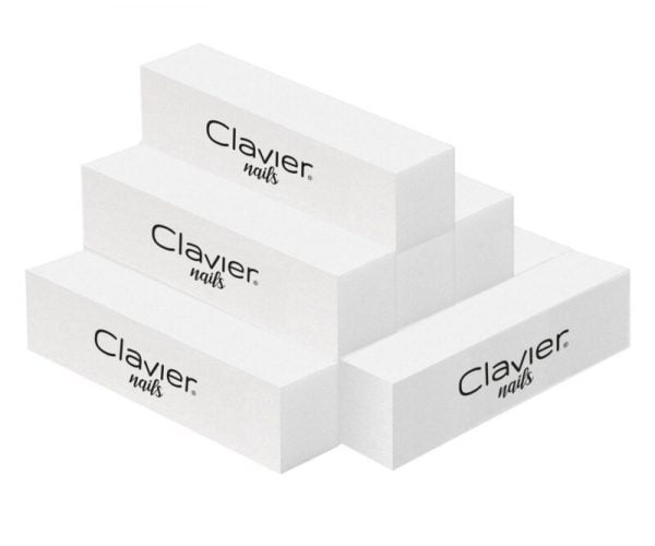 Blok Polerski – 10 szt. do paznokci, manicure – CLAVIER